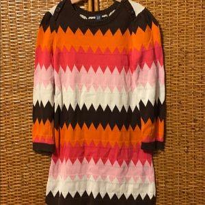 GAP darling L/S sweater dress EUC size 5T